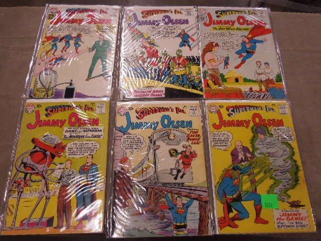 Lot of Jimmy Olsen Comic Books - 2