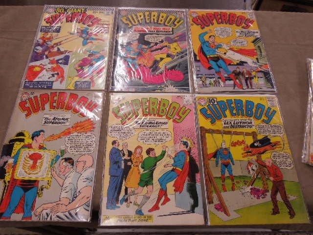 Lot of Superboy Comic Books