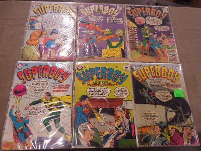 Lot of Superboy Comic Books - 2