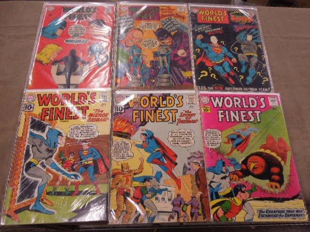 Lot of World's Finest Comics Comic Books