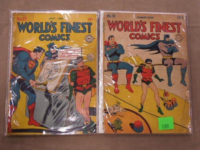 Lot of World's Finest Comics Comic Books - 4