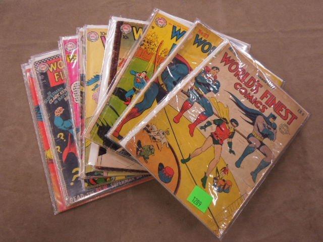 Lot of World's Finest Comics Comic Books - 5