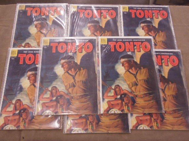 Lot of Tonto Comic Books