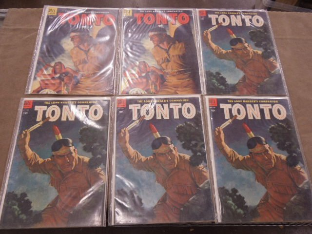 Lot of Tonto Comic Books - 2