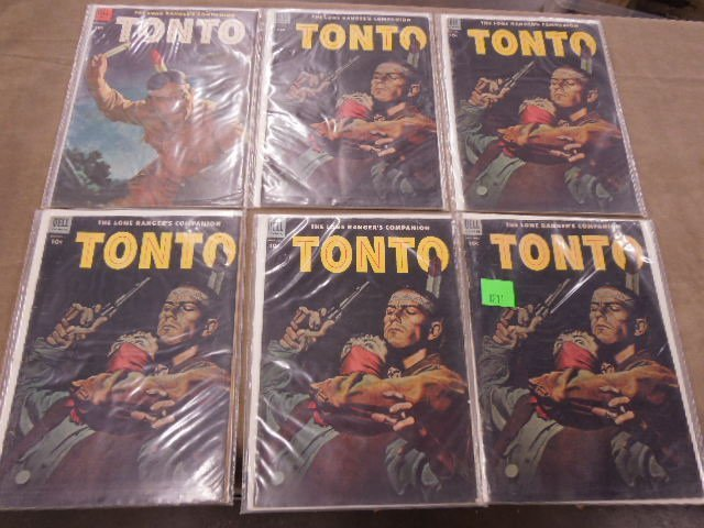 Lot of Tonto Comic Books - 3