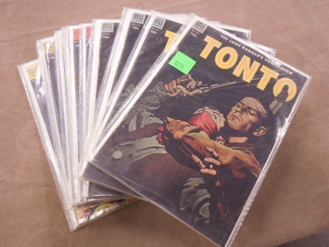 Lot of Tonto Comic Books - 4