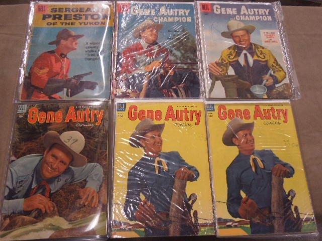 Lot of Gene Autry Comic Books - 2