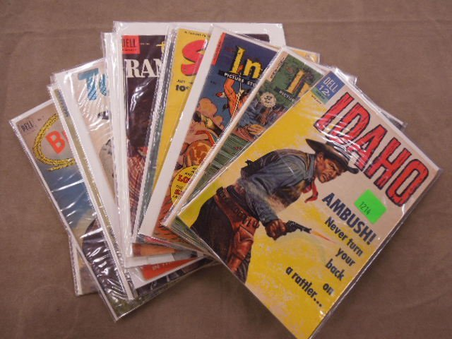 Lot Western Themed Comic Books