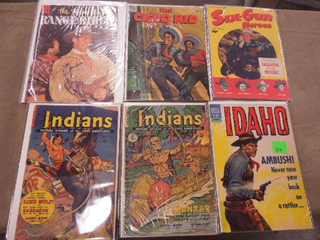 Lot Western Themed Comic Books - 3