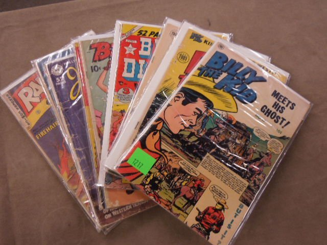 Lot of Western Themed Comic Books