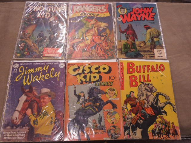 Lot of Western Themed Comic Books - 2