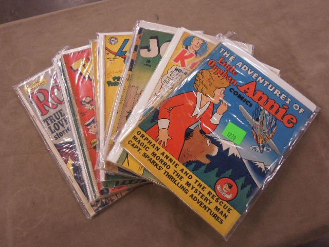 Lot of Golden Age Comic Books