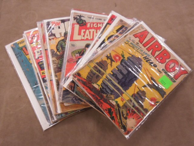 Lot of Military Themed Comic Books