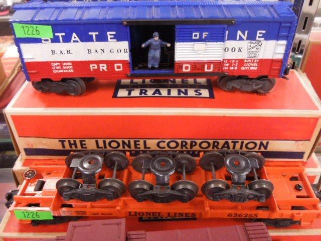 4 Lionel Train Cars - 3