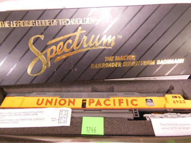 Spectrum Union Pacific Train Engine
