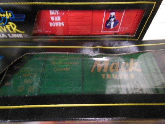 "4 Weaver ""O"" Gauge Boxcars - 2"