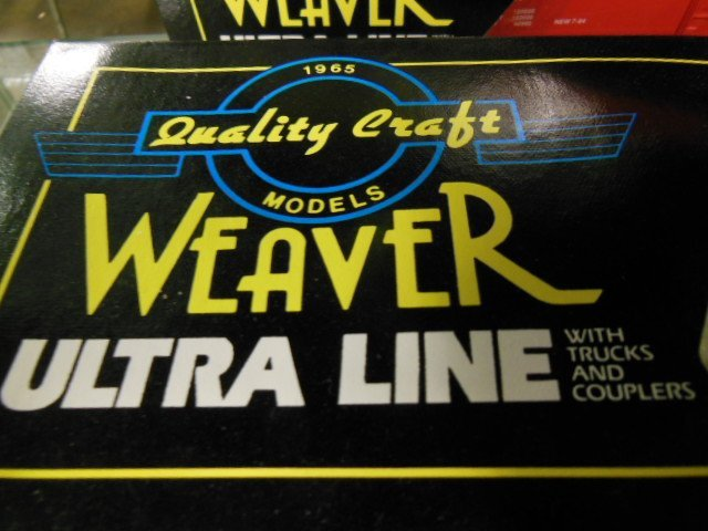 "4 Weaver ""O"" Gauge Boxcars - 4"