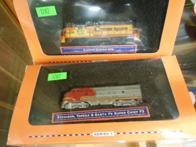 2 Lionel H-O Series I Engines