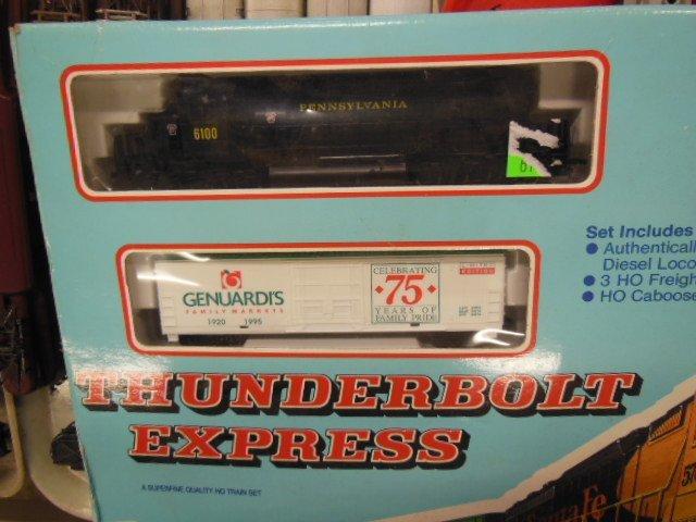 Thunderbolt Express H-O Train Set - 2