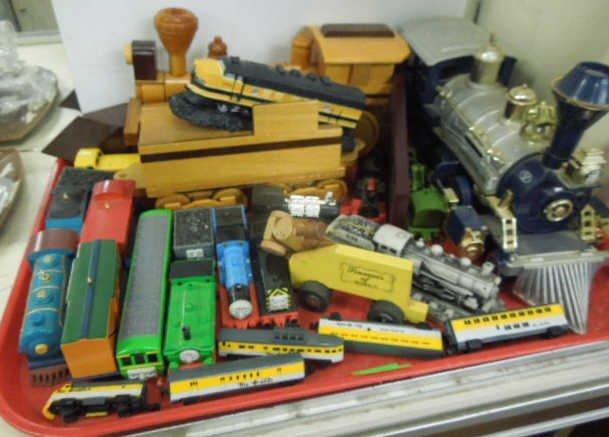Lot Assorted Trains