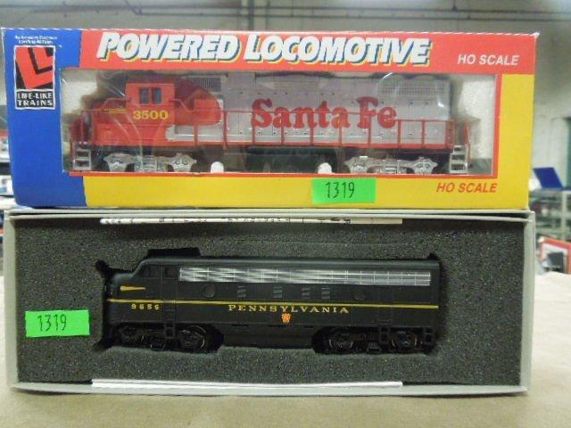 2 H-O Train Engines