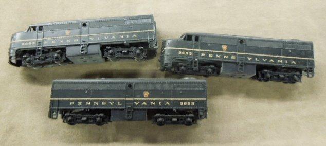 H-O 9603 Engine & A-B Dummy Cars