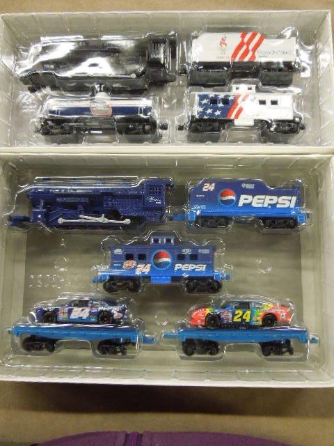 2 H-O Train Sets (racing)