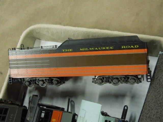 3 H-O Engine & Tender Sets - 3