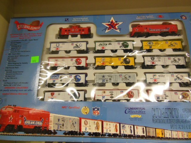 H-O Super Bowl Express Train Set