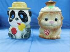 2 Ceramic Cookie Jars