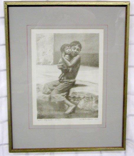 "1001: Jack Bookbinder [19]61, lithograph [ed. 25], ""Big"