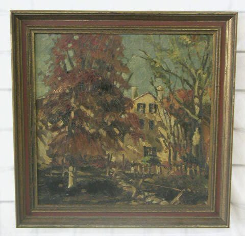 1006: William Buzard 1937, signed & dated recto & verso