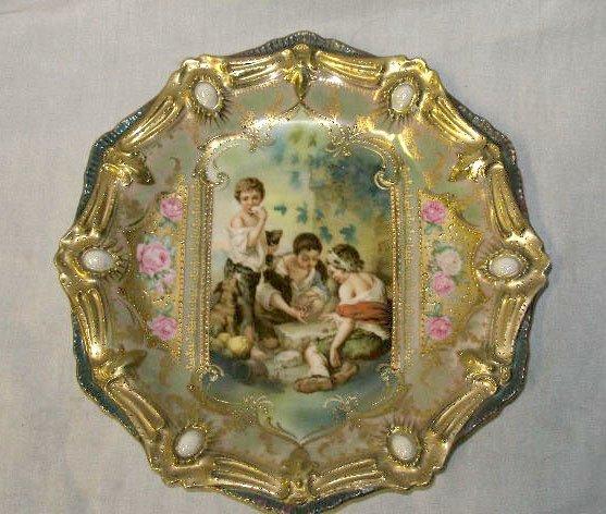 1108: R S Prussia portrait plate