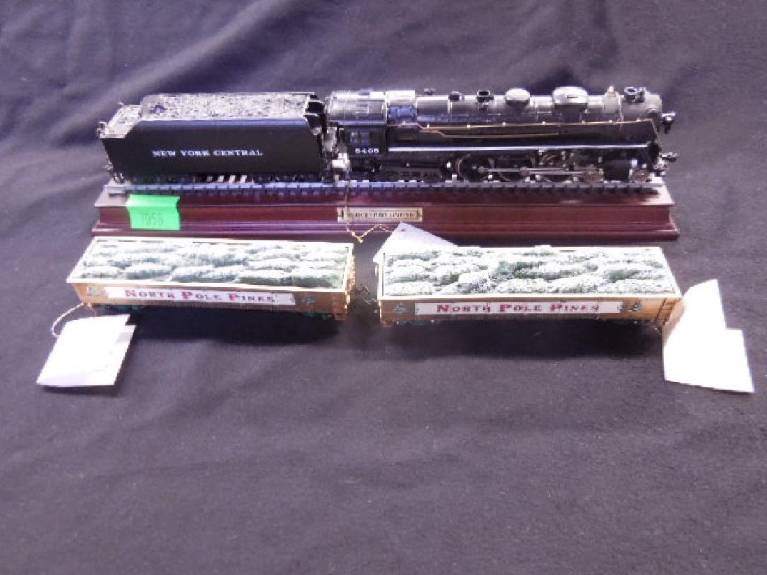 Franklin Mint NYC Engine & Tender & 2 Cars