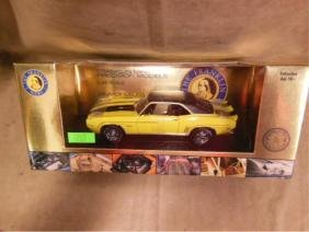 Franklin Mint 1969 Camaro Diecast Car
