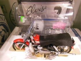 F. M. Elvis Presley Harley Davidson Motorcycle