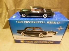 Franklin Mint Diecast car1956 Continental Mark II