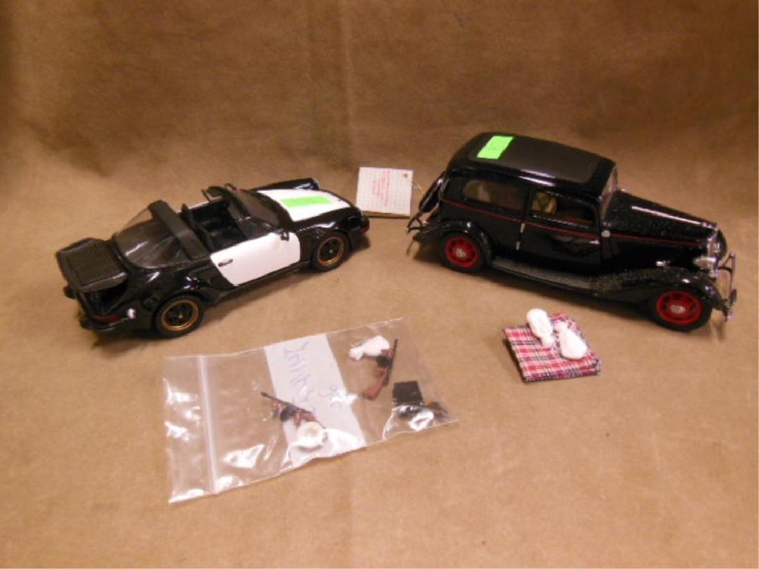 2 Franklin Mint Diecast Vehicles