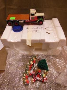 Franklin Mint Diecast Christmas Truck
