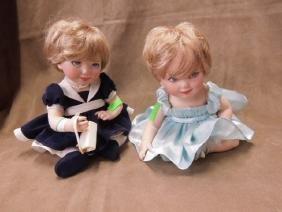 Franklin Mint Princess Diana Porcelain Baby Dolls