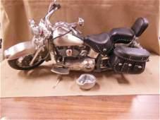 Franklin Mint Harley Davidson motorcycle