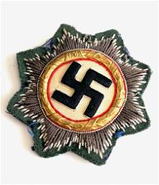 GERMANY, A WEHRMACHT (HEER) ISSUE GERMAN CROSS IN GOLD,