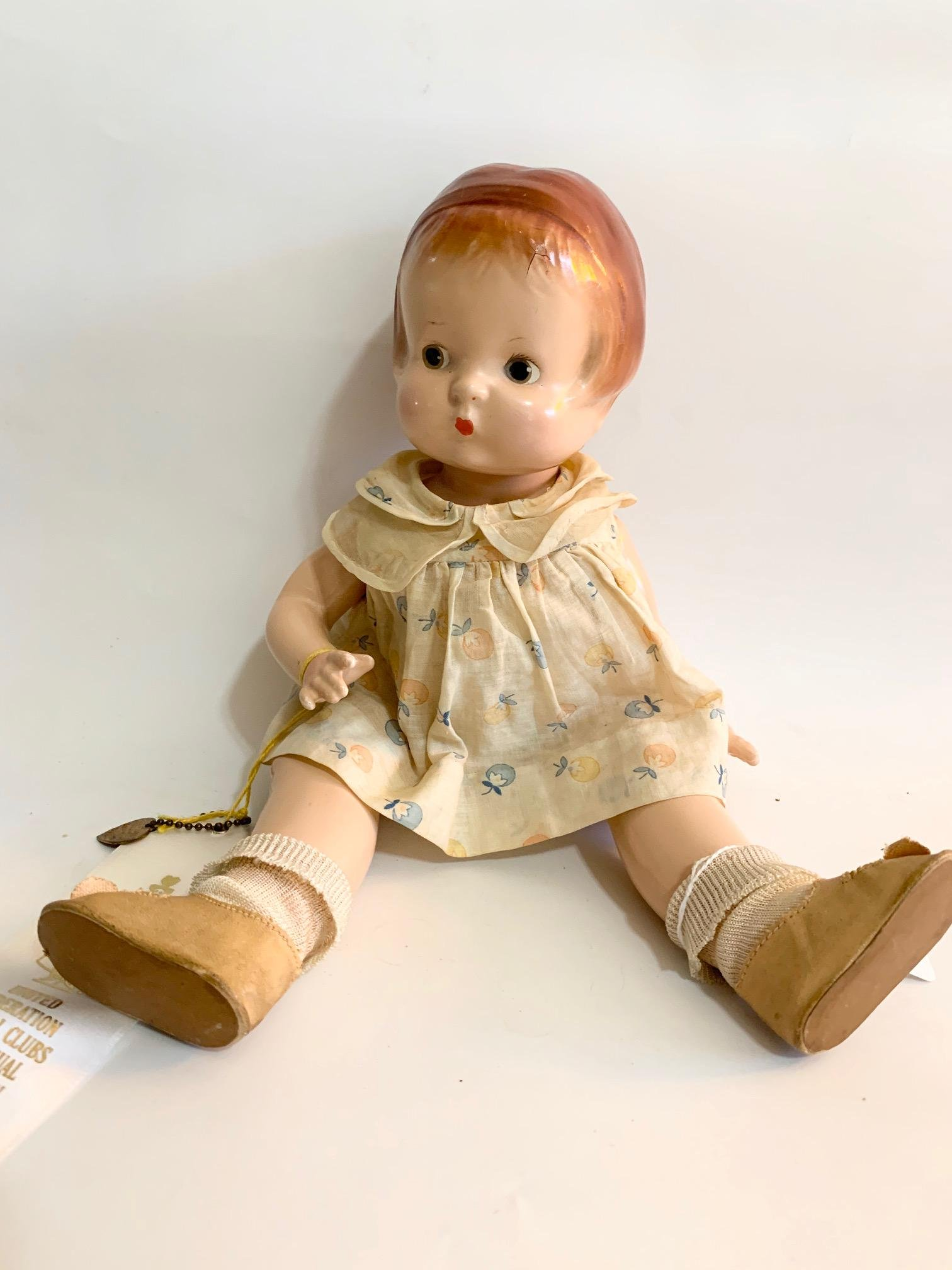 """B6: Effanbee Patsy 13"""" Composition Doll"""