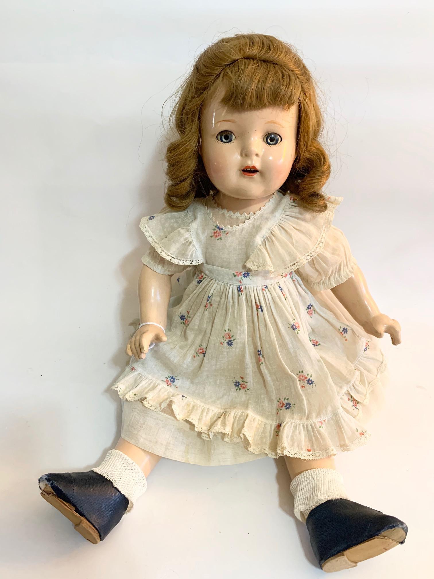 "B8: Madame Alexander Ellen 19"" Composition Doll"