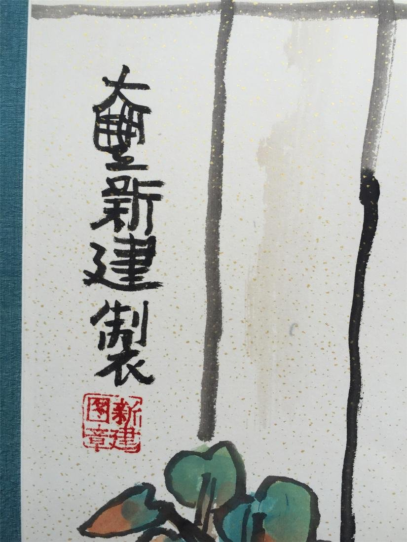 CHINESE SCROLL PAINTING OF BEAUTY - 3