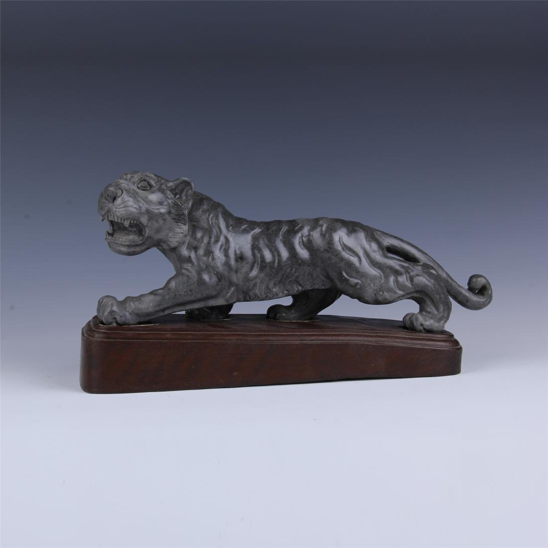 CHINESE SOAPSTONE CARVED TIGER