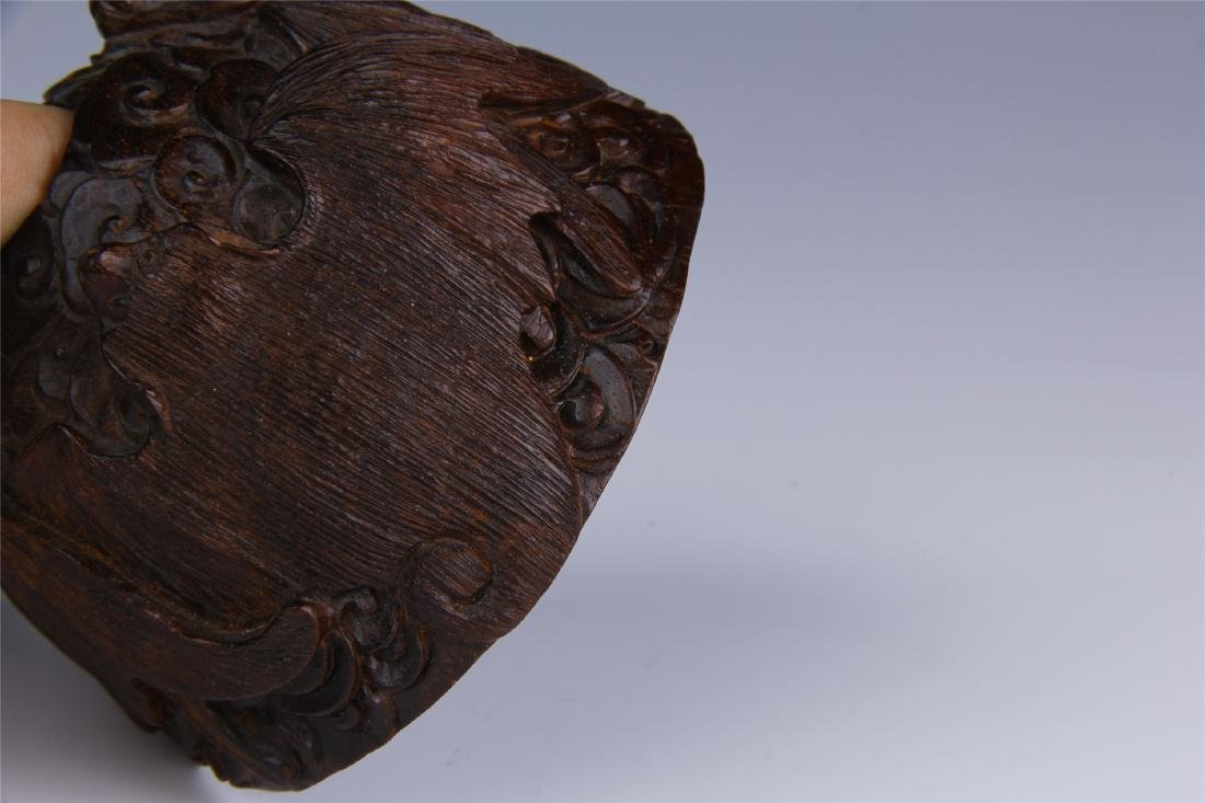 CHINESE ROSEWOOD WATER POT - 4