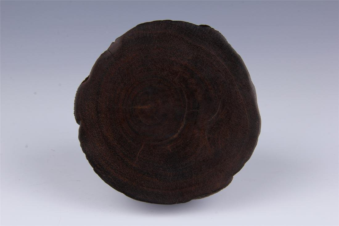 CHINESE ROSEWOOD WATER POT - 5