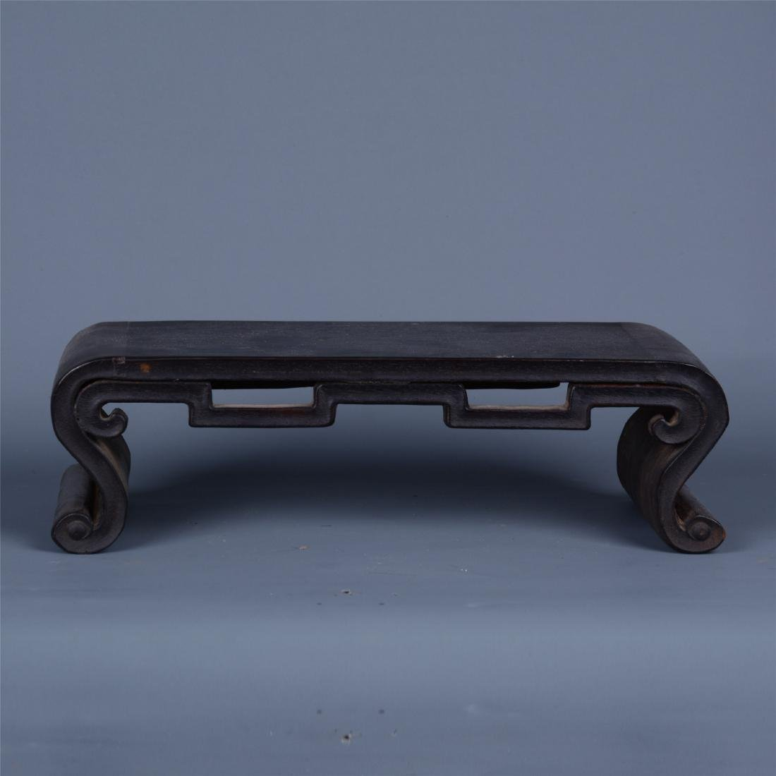 CHINESE ROSEWOOD SQUARE STAND