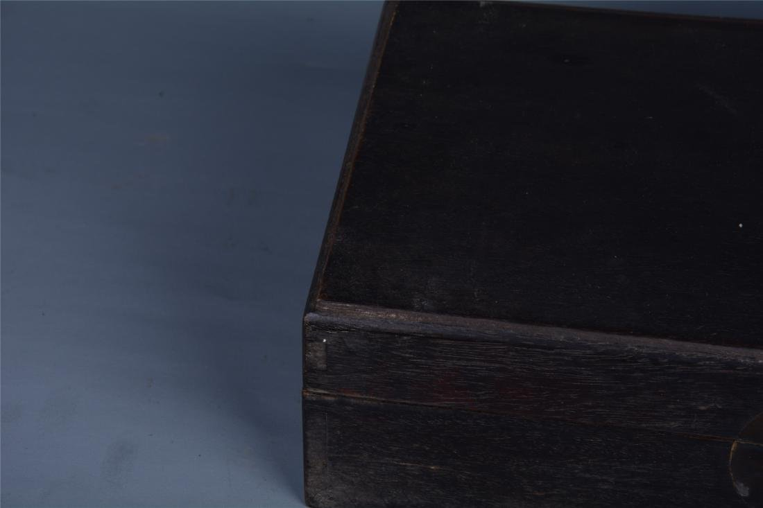 CHINESE ROSEWOOD BOOK CASE - 2